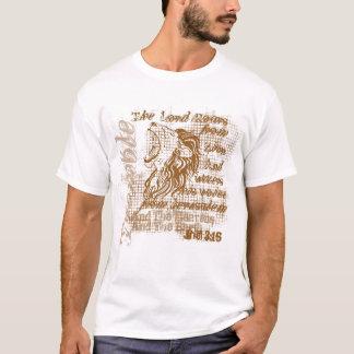 """""""Löwen brüllen"""" christliches T-Shirt"""