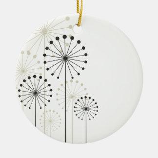 Löwenzahn Keramik Ornament