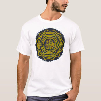 Löwenzahn-Mandala-T-Shirt T-Shirt