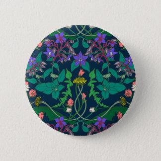 Löwenzahn Runder Button 5,7 Cm