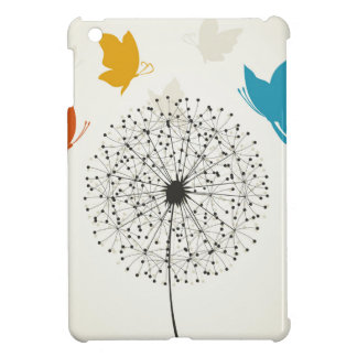 Löwenzahn und der Schmetterling iPad Mini Hülle