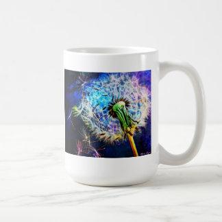 LÖWENZAHN-WUNSCH durch Missi Lynn Boness Kaffeetasse