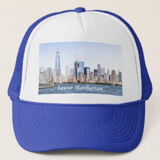 Lower Manhattan-FarbeSketchTrucker Hut Truckerkappe