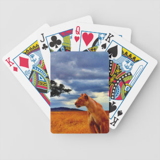 Löwin-Sturm Bicycle Spielkarten