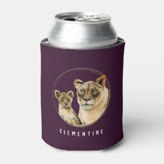Löwin und CUB   der Mutterschafts-  addieren Ihren Dosenkühler