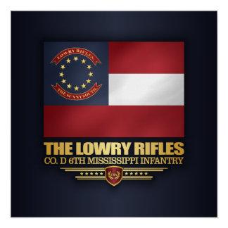 Lowry Gewehre Poster