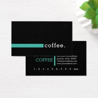 Loyalitäts-Kaffee-Durchschlag modernes Keppel Visitenkarte