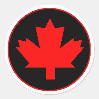 Loyalitäts-Kanada-Tagesaufkleber Runder Aufkleber
