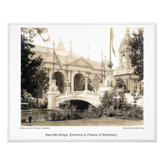 LPE16 - Bienville Brücke Fotodruck