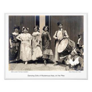 LPE17 - Tänzerinnen von mysteriösem Asien Fotodruck