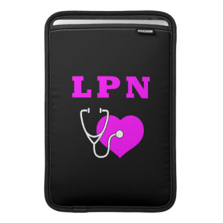 LPN Sorgfalt MacBook Sleeve