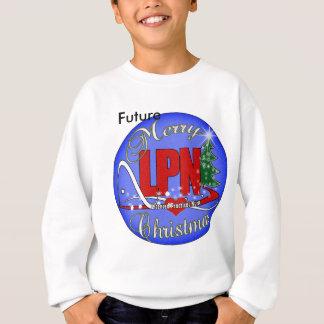 LPN WEIHNACHTSfröhliche GENEHMIGTE PRAKTISCHE Sweatshirt