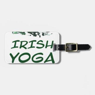 lrish Yoga Kofferanhänger