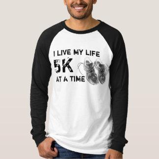 LSRaglan - ich lebe mein Leben 5K auf einmal T-Shirt