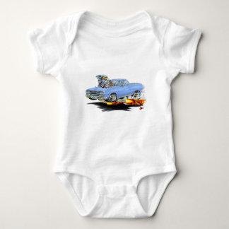 Lt 1964-65 EL-Camino Blue Truck Baby Strampler