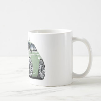Lt Green Car Fiat-500 Kaffeetasse