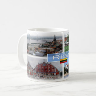 LT Lettland Lietuva - Riga - Kaffeetasse