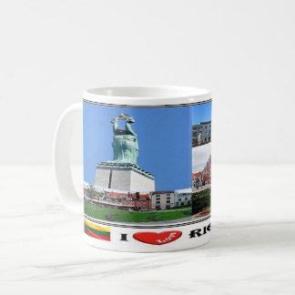 LT Lietuva - Lettland - Kaffeetasse