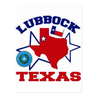 Lubbock, Texas Postkarte