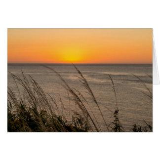 Lubec Maine Sonnenaufgang Karte