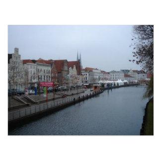 Lübeck Deutschland Postkarte