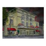 Lucas-Theater-Savanne-Georgia-Künstlerkunst Postkarten