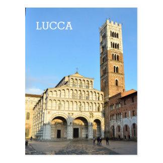 Lucca, Italien Postkarte