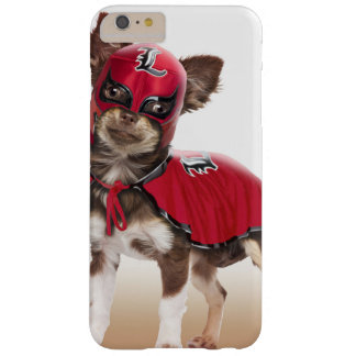 Lucha libre Hund, lustige Chihuahua, Chihuahua Barely There iPhone 6 Plus Hülle