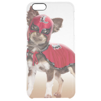 Lucha libre Hund, lustige Chihuahua, Chihuahua Durchsichtige iPhone 6 Plus Hülle