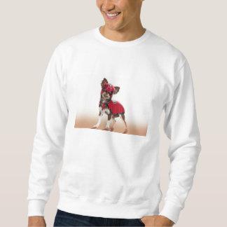 Lucha libre Hund, lustige Chihuahua, Chihuahua Sweatshirt