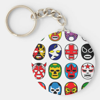 Lucha Libre Luchador mexikanische Wrestling-Masken Schlüsselanhänger