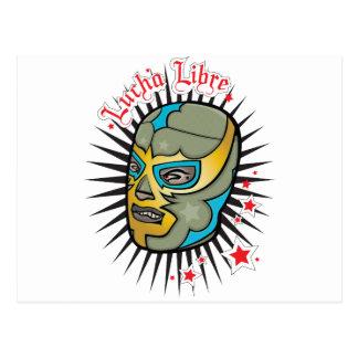 Lucha Libre mexikanische Wrestling-Maske Postkarten