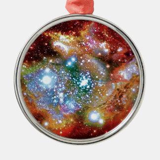 Luchs-Bogen Starbirth Silbernes Ornament