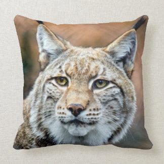 Luchs-Rotluchs-Tier-Fleischfresser-Katze Kissen