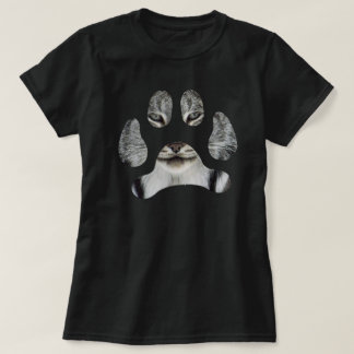 Luchsgesichtstatze - Damen T-Shirt