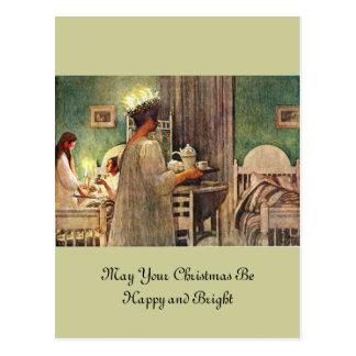 Lucia-Tag Postkarte