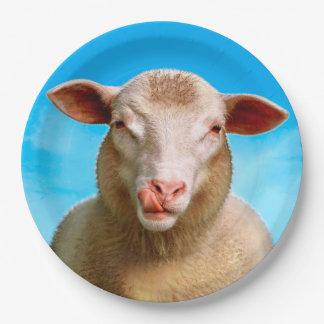 Lucie die Schafe Pappteller