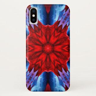 Lucifer Dämon-Stern-Mandala-Kasten iPhone X Hülle