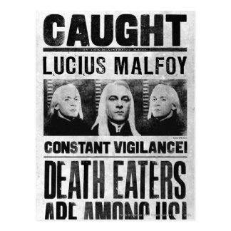 Lucius Malfoy wollte Plakat Postkarte
