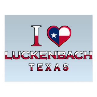 Luckenbach, Texas Postkarte