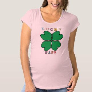 Lucky Babe Schwangerschafts T-shirt