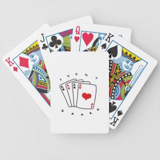 Lucky Gamer Bicycle Spielkarten