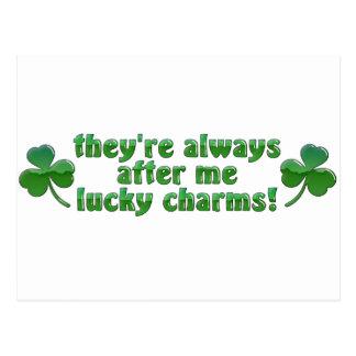 LuckyCharms Postkarte