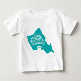 LuckyWeLiveHI-Türkis (Kleinkind) Baby T-shirt