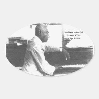 Ludovic Lamothe Ovaler Aufkleber