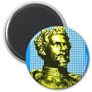Ludwig II. König Bayern Runder Magnet 5,7 Cm