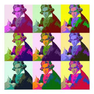 Ludwig van Beethoven (1770-1827) Fotodruck