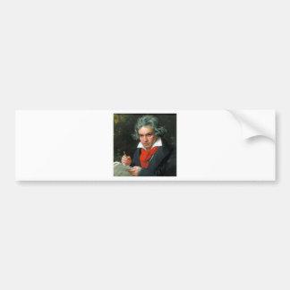 Ludwig van Beethoven Autoaufkleber