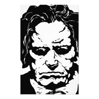 Ludwig van Beethoven - berühmter deutscher Briefpapier