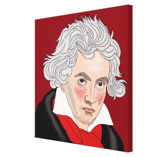 Ludwig Van Beethoven Leinwanddruck